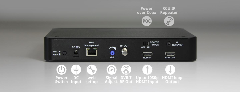 HDShare HD DVB-T modulator